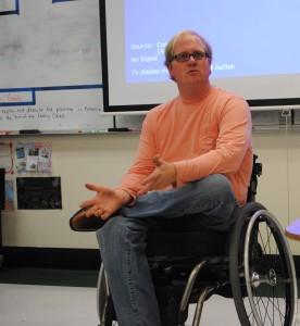 Mr. Ashby in class - PBA - Nancy