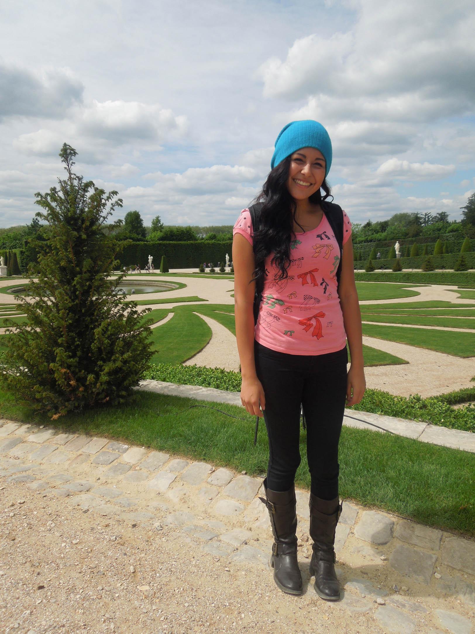 Marie Antoinettes home/garden in Versailles
