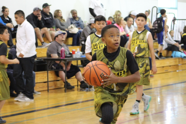 Eric Green a 5th grade point guard for GBA helped lead his team to their first tournament championship of the season. Green averaged 15 points a game along with Jalen Brown.