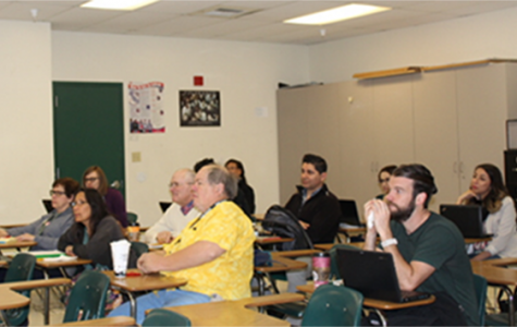 The English department met several times as a whole group this year. According to junior English teacher Mick Battaglini weekly collaboration will allow this to happen more often with all departments.