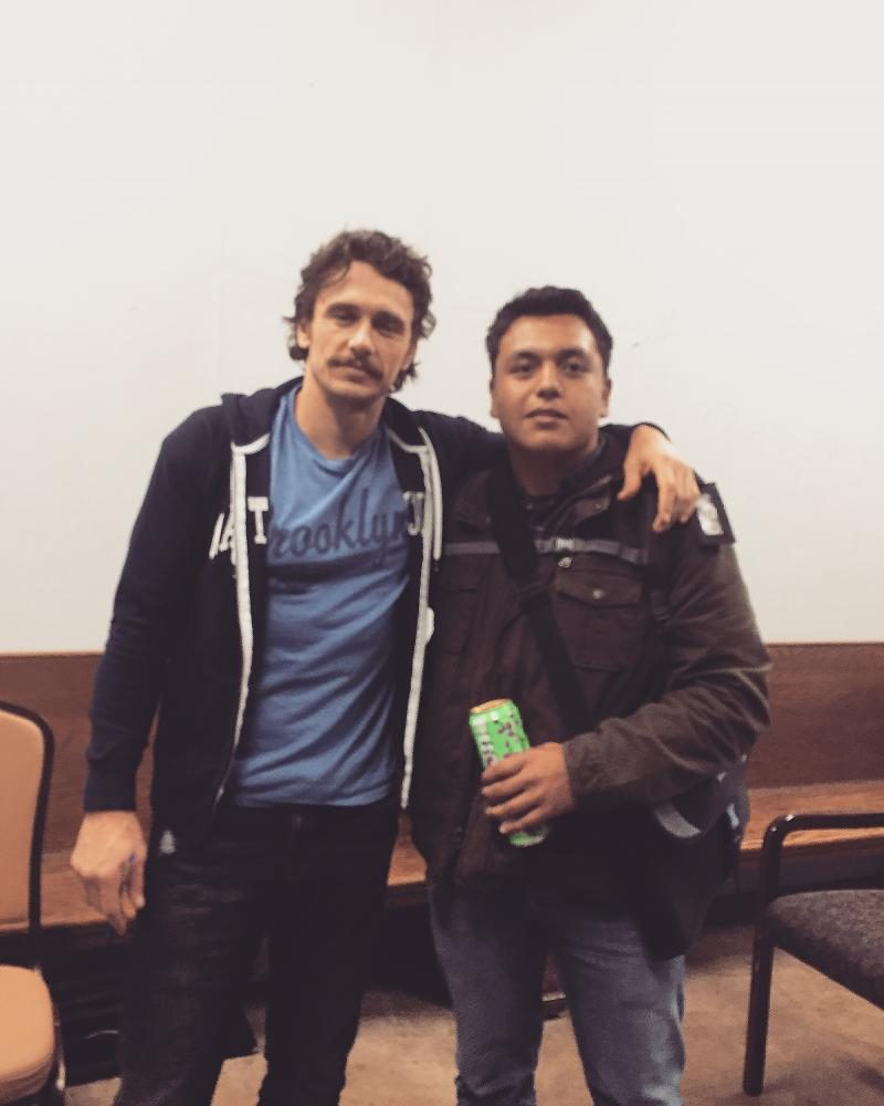 It's not often that you meet your favorite celebrity, but senior Ivan Ramirez has done just that, and then some. Ramirez applied to a workshop that is mentored by James Franco in Palo Alto, Ca; where he is being taught the do's and dont's of the film industry.