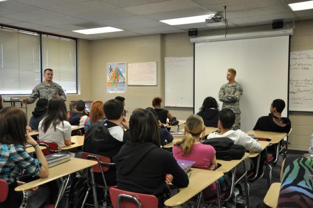Do Military Recruiters Belong in Schools?