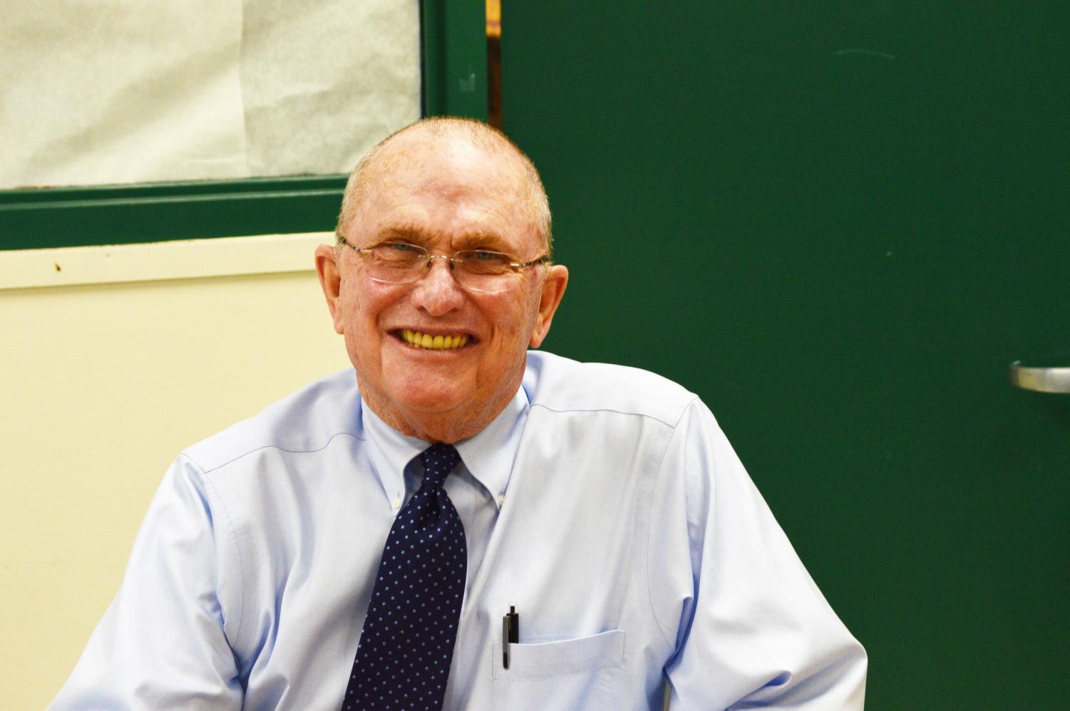 After teaching for 26 years, English teacher Howard Cooney is now retiring.