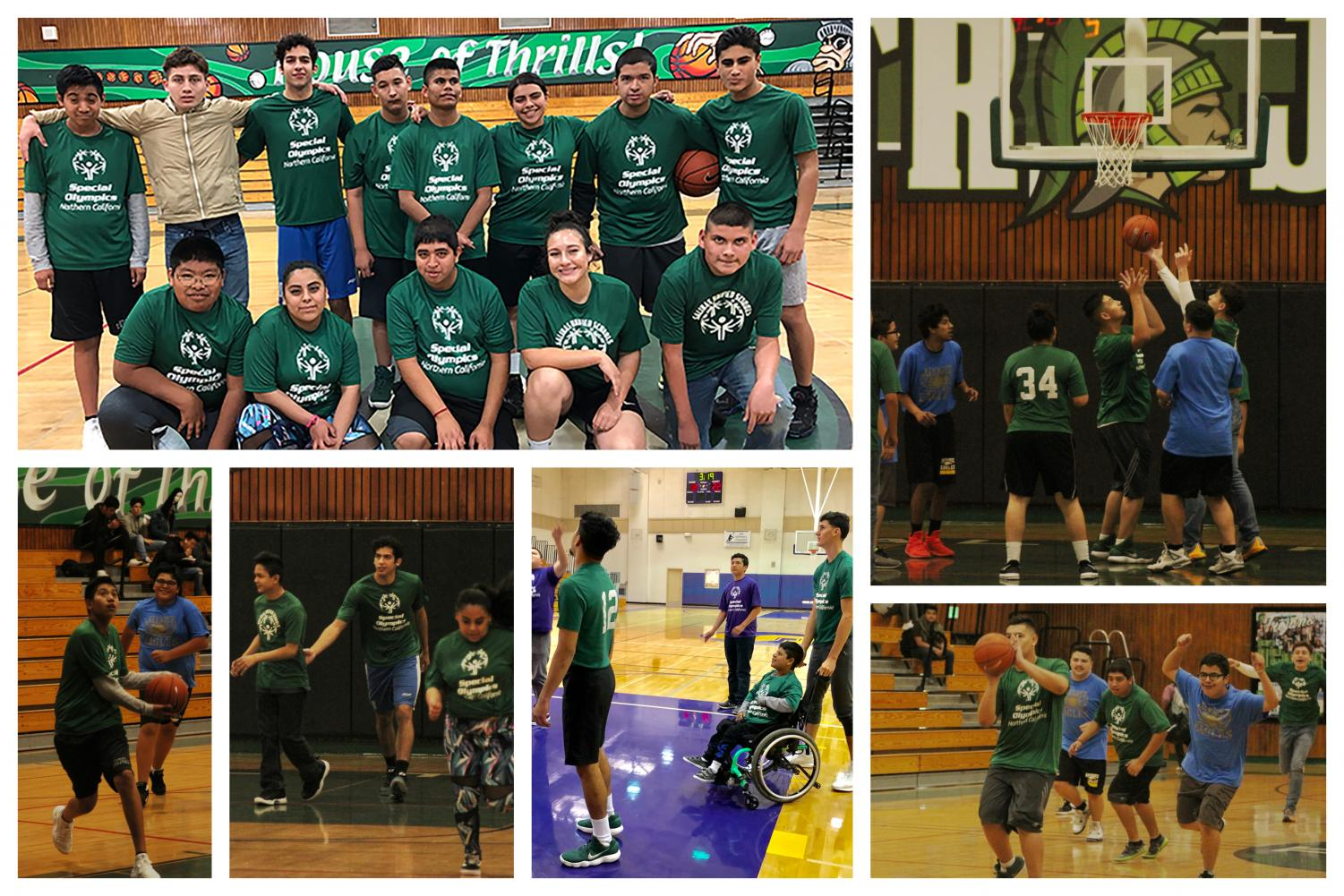 The Alisal basketball players support and cheer on the unified players to continue to do what they love and have nothing stop them. They enjoyed having the ability to be part of something great and be part of a sport where the attention is all on them.