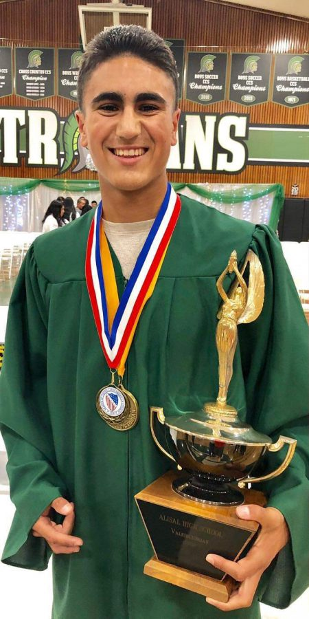 High achieving and humble, Josue Gil Silva is Alisal's 2019 Valedictorian
