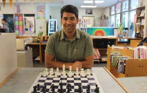 Mr. Francisco ready to play chess