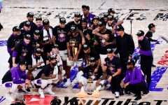 "The Los Angeles Lakers won their 16th championship over the Miami Heat, 4-2. All games were played in the ""Bubble"" in Orlando, FL, and was COVID-19 free for the duration of play."