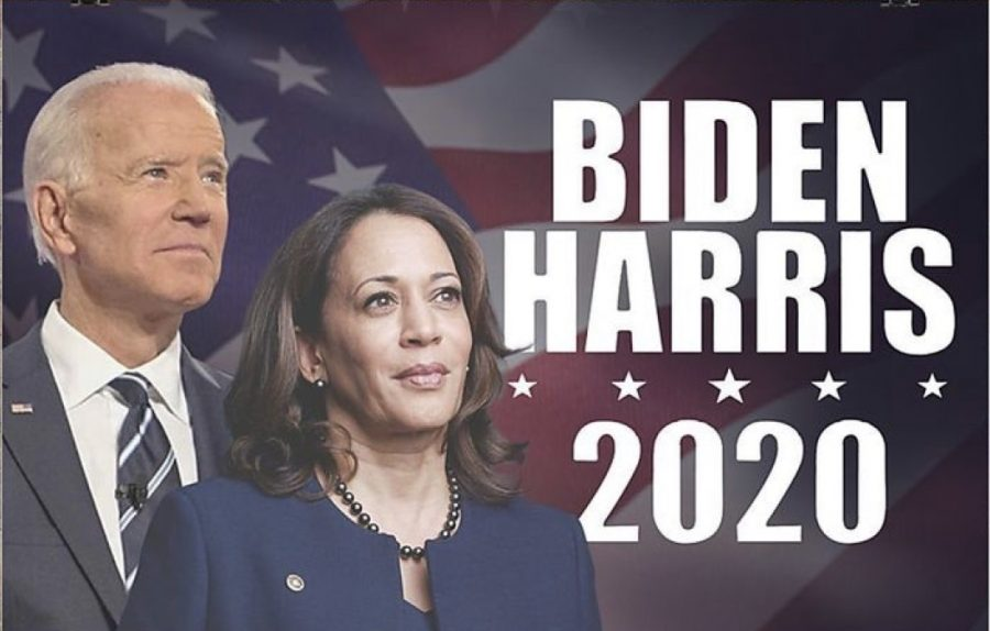 During+election+week%2C+senior+Sofia+Hidalgo%2C+reposted+a+Biden+and+Harris+campaign+poster+on+her+Instagram+story.+Campaign+posters+were+all+over+the+internet%2C+many+used+them+to+spread+their+voice+stance+on+the+election.+Hidalgo+said%2C+%E2%80%9CI+repost+posters+on+my+social+media+accounts+because+that%E2%80%99s+where+a+lot+of+people%E2%80%99s+attention+is+on.+Unfortunately%2C+I+wasn%E2%80%99t+able+to+vote+in+this+year%27s+election%2C+but+I+still+made+an+effort+to+contribute+to+spreading+awareness+in+ways+like+this+to+hopefully+influence+and+inform+others+as+well.%E2%80%9D++
